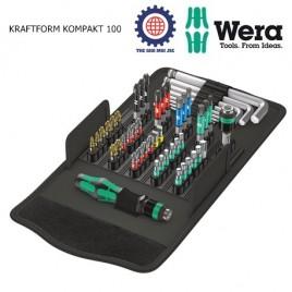 Bộ Kraftform Kompakt 100 – WERA 05057460001