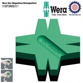 Miếng sao tạo từ tính tua vít – Wera 05073403001 Star Magnetizer