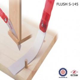Cưa cắt chốt gỗ uốn cong được FLUSH S-145