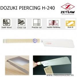 Cưa gỗ DOZUKI PIERCING H-240