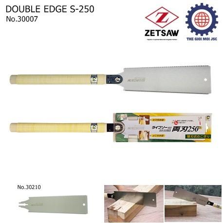 Cua hai luoi DOUBLE EDGE S-250 – ZETSAW 30007