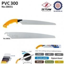 CƯA CẮT ỐNG NƯỚC ĐA NĂNG PVC 300 – ZETSAW 58031
