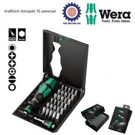 Bộ KRAFTFORM KOMPAKT 70 UNIVERSAL BITS ASSORTMENT ( ALLROUND ) – WERA 05057110001
