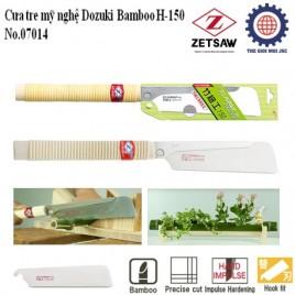 Cưa tre mỹ nghệ DOZUKI BAMBOO H-150 – ZETSAW 7014