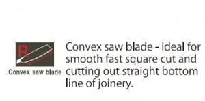 Cross Convex H-265 - spec 2