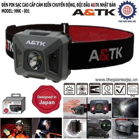 Den pin sac cao cap A&TK Rec-Motion Sensor A&TK