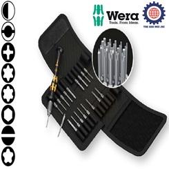 BỘ TUA VÍT CHỐNG TĨNH ĐIỆN 20 CHIẾC Kraftform Kompakt Micro-Set ESD/20 SB – WERA 05073671001