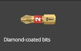 10 - Diamond-coated bits