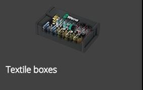 25 - Textile boxes