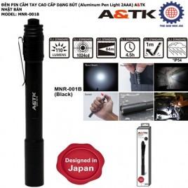 ĐÈN PIN CẦM TAY CAO CẤP DẠNG BÚT (Aluminum Pen Light 2AAA) A&TK NHẬT BẢN – MNR-001B
