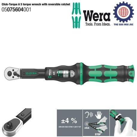 Can xiet luc Click-Torque A 5 Wera 05075604001