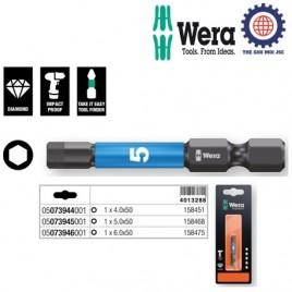 ĐẦU VÍT LỤC GIÁC WERA Impaktor – 840/4 IMP DC Impaktor bits SB