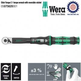 Cần xiết chỉnh lực Click-Torque C 1, 10 – 50Nm – Wera 05075620001