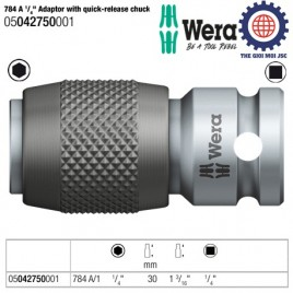 784 A 1/ 4″ Adaptor with quick-release chuck – Wera 05042750001