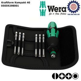 Bộ Kraftform Kompakt 40 Wera 05059298001 (7 chiếc)