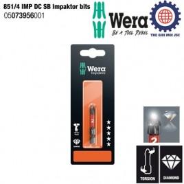 Đầu vít 851/4 IMP DC SB Impaktor bits, Ph2x50mm – Wera 05073956001