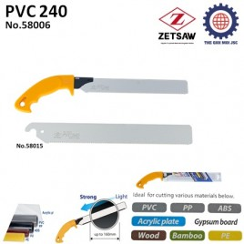 CƯA CẮT ỐNG NƯỚC ĐA NĂNG PVC 240 – ZETSAW 58006