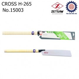 Cưa gỗ CROSS H-265 – Zetsaw 15003
