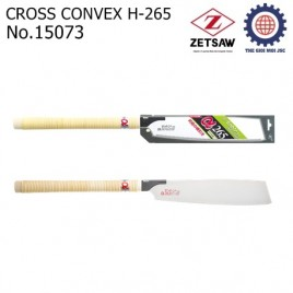 Cưa gỗ lưỡi cưa lồi Cross Convex H-265 – Zetsaw 15073