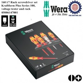 7 pieces Electrical Screwdriver Set – Wera 05006147001