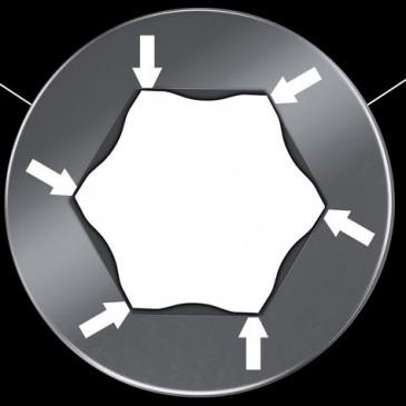 Giải pháp Hex-Plus khóa lục giác Wera