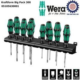 BỘ TUA VÍT ĐIỆN 14 CHIẾC Kraftform Big Pack 300 ( 350 PH) –WERA 05105630001