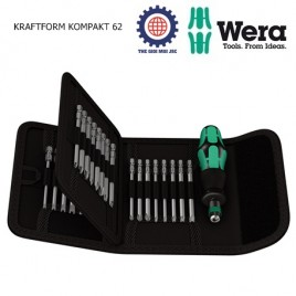 Bộ KRAFTFORM KOMPAKT 62  WERA 05059297001