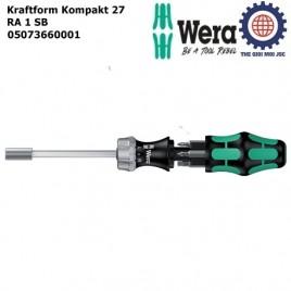 Bộ mở vít Kraftform Kompakt 27 RA 1 SB – WERA 05073660001