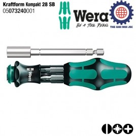 Bộ văn vít đa năng Kraftform Kompakt 28 SB ( 6 cái) – WERA 05073240001