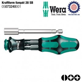 Bộ văn vít đa năng Kraftform Kompakt 28 SB (6 cái) – WERA 05073240001