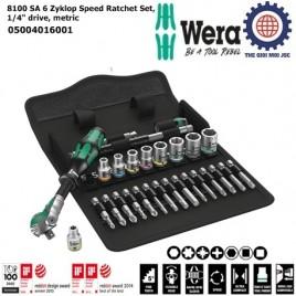 Bộ khẩu tròng cóc 8100 SA 6 1/4″ gồm 28 chi tiết Wera 05004016001