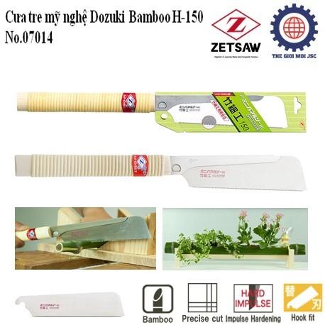 Cua tre my nghe Dozuki Bamboo H-150