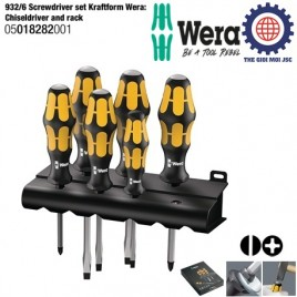 Wera 6 Piece Chiseldriver Set (932 S/6) – WERA 05018282001
