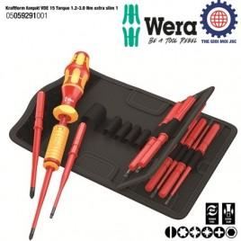 Bộ tua vít lực cách điện đa năng Wera 05059291001