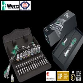 Bộ khẩu 1/4″ gồm 28 chi tiết WERA 05004016001