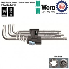 Bộ lục giác đầu bi thép không rỉ (Stainless Steel 3950 PKL/9) – WERA 05022720001