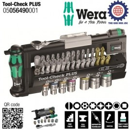 Bộ dụng cụ Wera 05056490001 Tool-Check PLUS