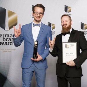GOLD German Brand Award 2017 - 2