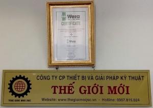 Nhan phan phoi dung cu Wera - The Gioi Moi JSC