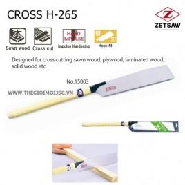 Cưa gỗ CROSS H-265
