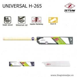 Cưa gỗ đa năng UNIVERSAL H-265 – Zetsaw 15075