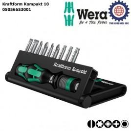 Bộ Kraftform Kompakt 10 Wera 05056653001