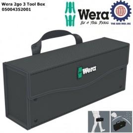 Túi cao cấp đựng dụng cụ Wera 2go 3 Tool Box Wera 05004352001