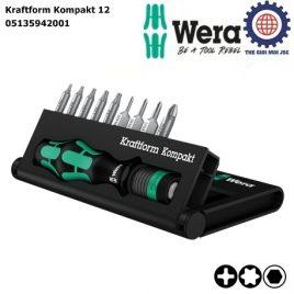 Bộ Kraftform Kompakt 12 Wera 05135942001