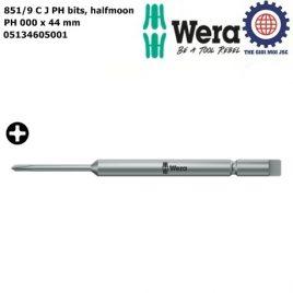 Đầu vít bốn cạnh 851/9 C J PH 000 x 44 mm Wera 05134605001
