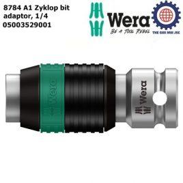 Đầu chuyển 1/4″ 8784 A1 Zyklop bit adaptor Wera 05003529001