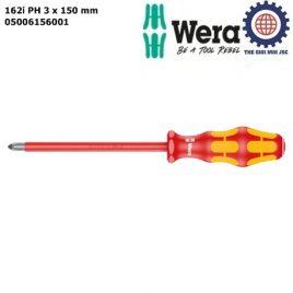 Tua vít cách điện 162i PH 3 x 150 mm Wera 05006156001