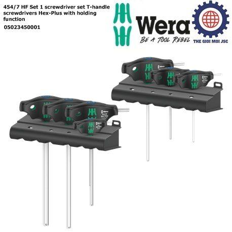 454-7 HF Set 1 Wera 05023450001