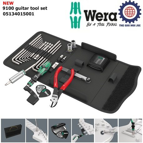9100 guitar tool set – Knipex – Wera 05134015001
