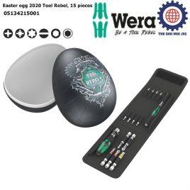 [Phiên Bản Giới Hạn 2020] Bộ dụng cụ Easter egg 2020 Tool Rebel gồm 15 cái Wera 05134215001